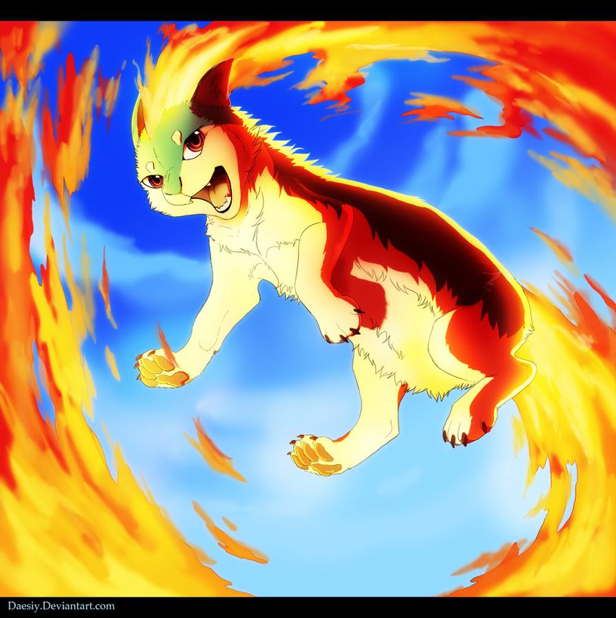 Flame Wheel by Daesiy