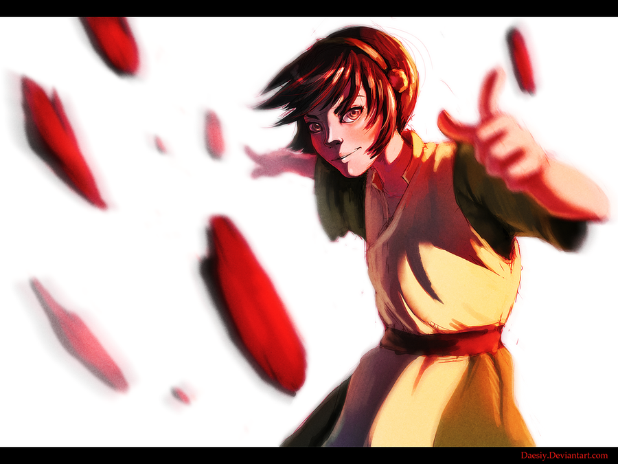 Toph Speedpaint by Daesiy