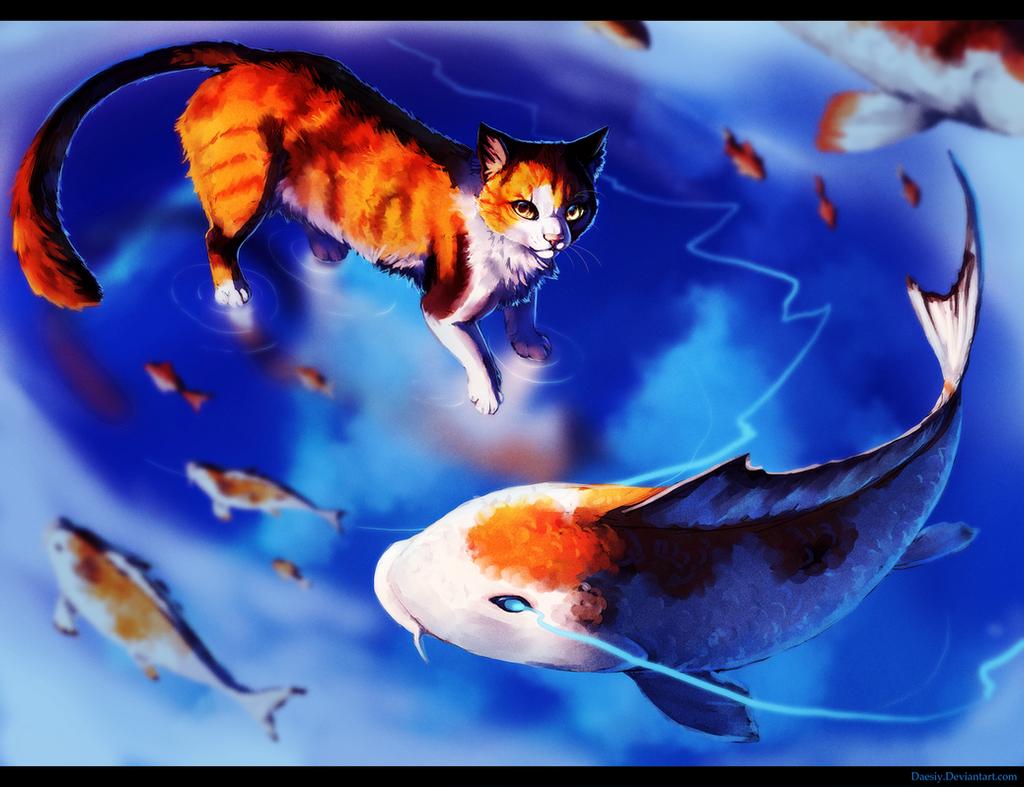 Sky Pond by Daesiy
