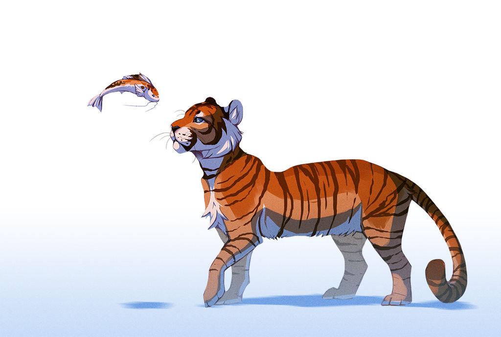 Tiger Koi