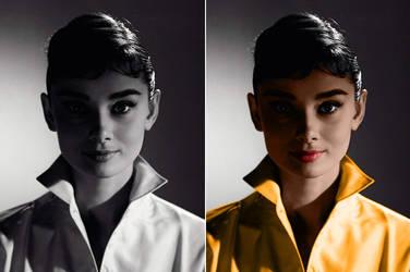 Audrey Hepburn by dmsnarf