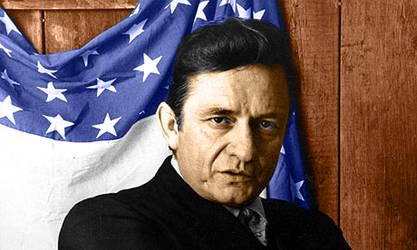 Johnny Cash by dmsnarf