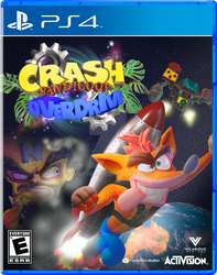 Crash Bandicoot: OVERDRIVE - Cover Art