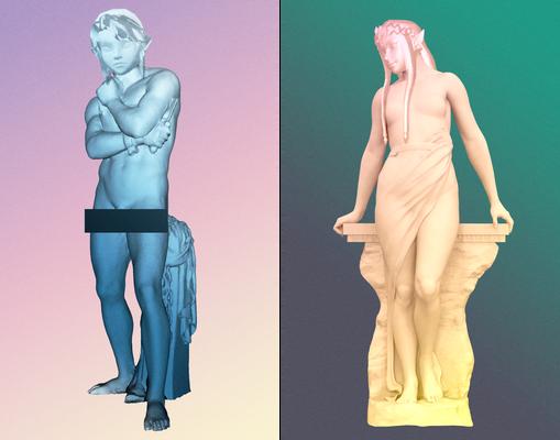 Twilight Sculptures