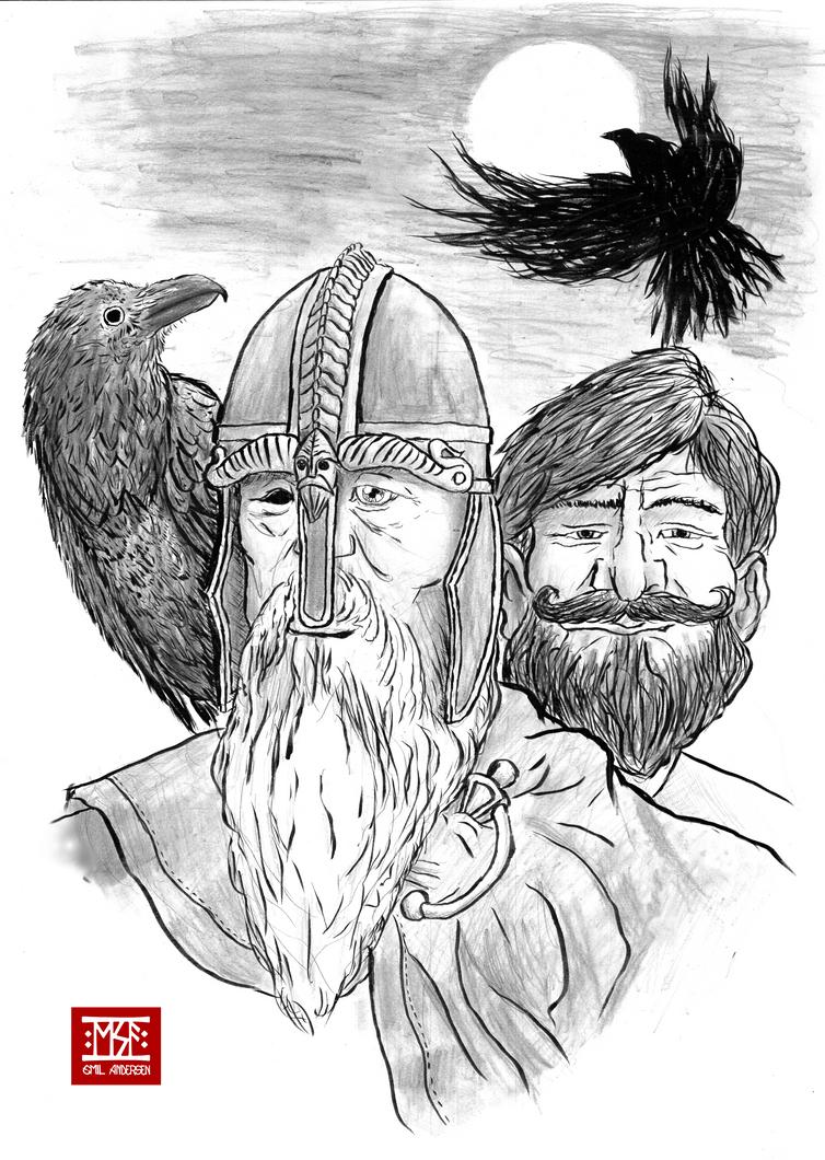 Odin and Loki by emilsa