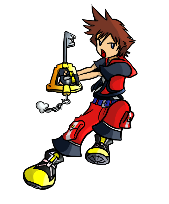 Kingdom Hearts 3D - Chibi Sora by macuapo89