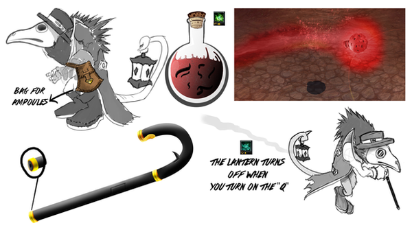 LOL Twitch  weapon and skills idea by macuapo89