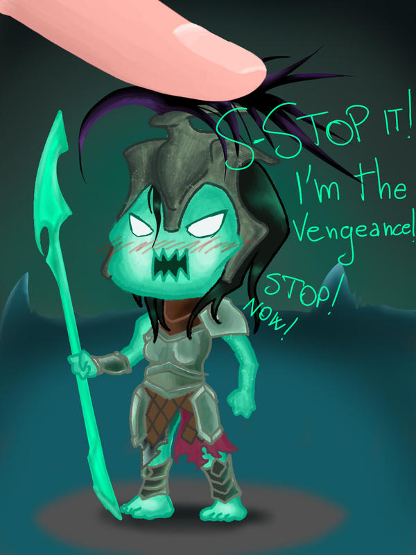League of Legends - Chibi Kalista by macuapo89 on DeviantArt
