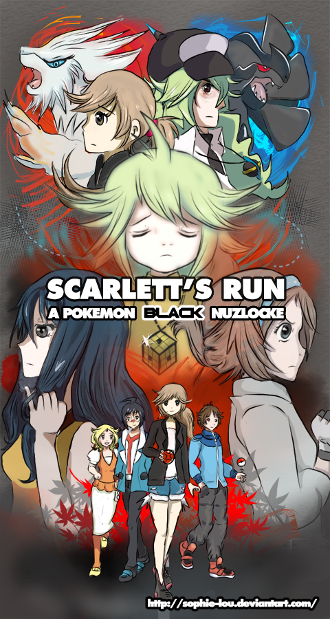 Scarlett's Run: A Pokemon Black Nuzlocke Cover by Sophie-Lou