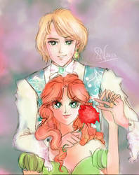 Sophie and Howl by Friggin-Artwork