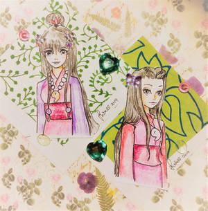 Maya and Iris (Scrapbook Series)