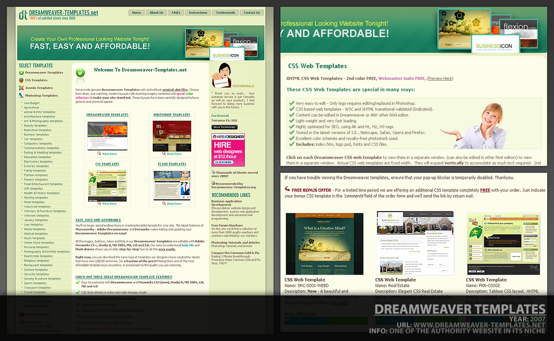 Dreamweaver template by designcode on deviantart dreamweaver template by designcode wajeb Image collections