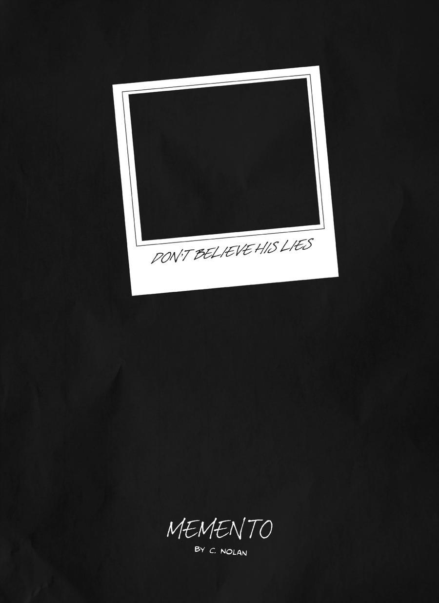 minimalist memento poster by premedito on deviantart. Black Bedroom Furniture Sets. Home Design Ideas
