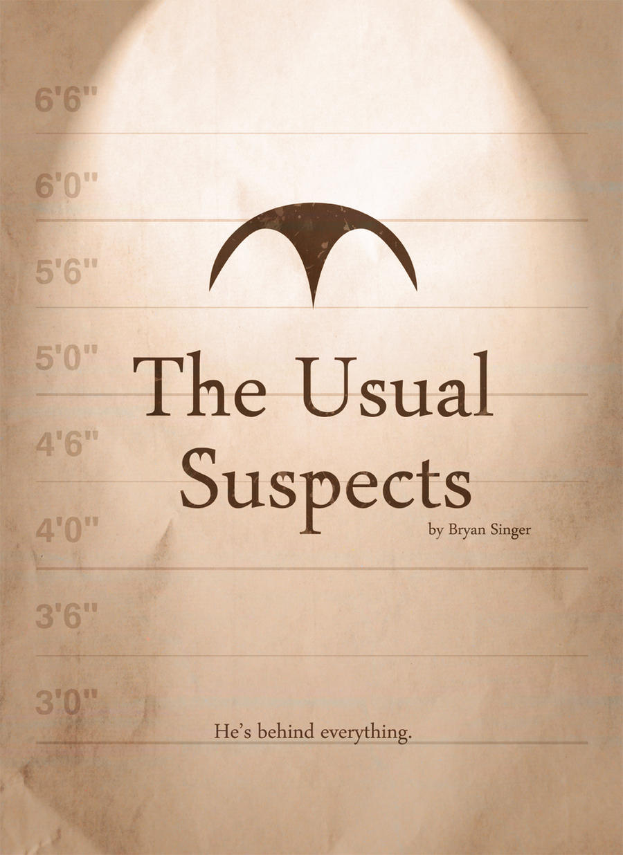 The Usual Suspects Poster by premedito