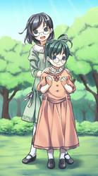 Shizune and Hideaki