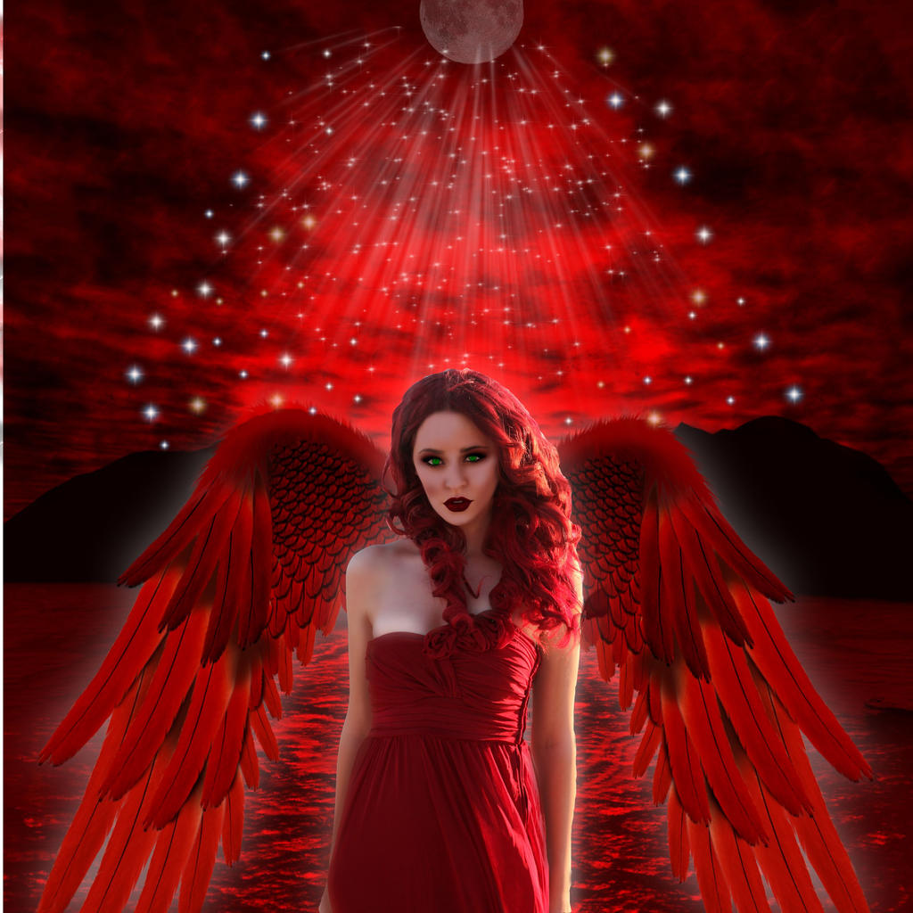 Red Angel by marphilhearts