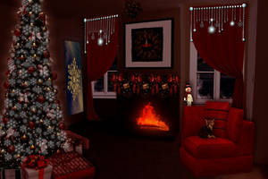 Cozy Christmas by marphilhearts