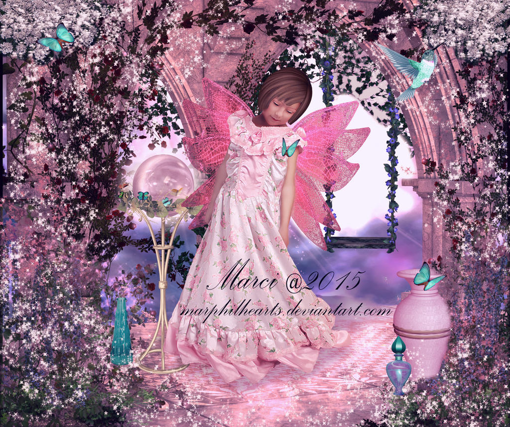 Flower Fantasy by marphilhearts