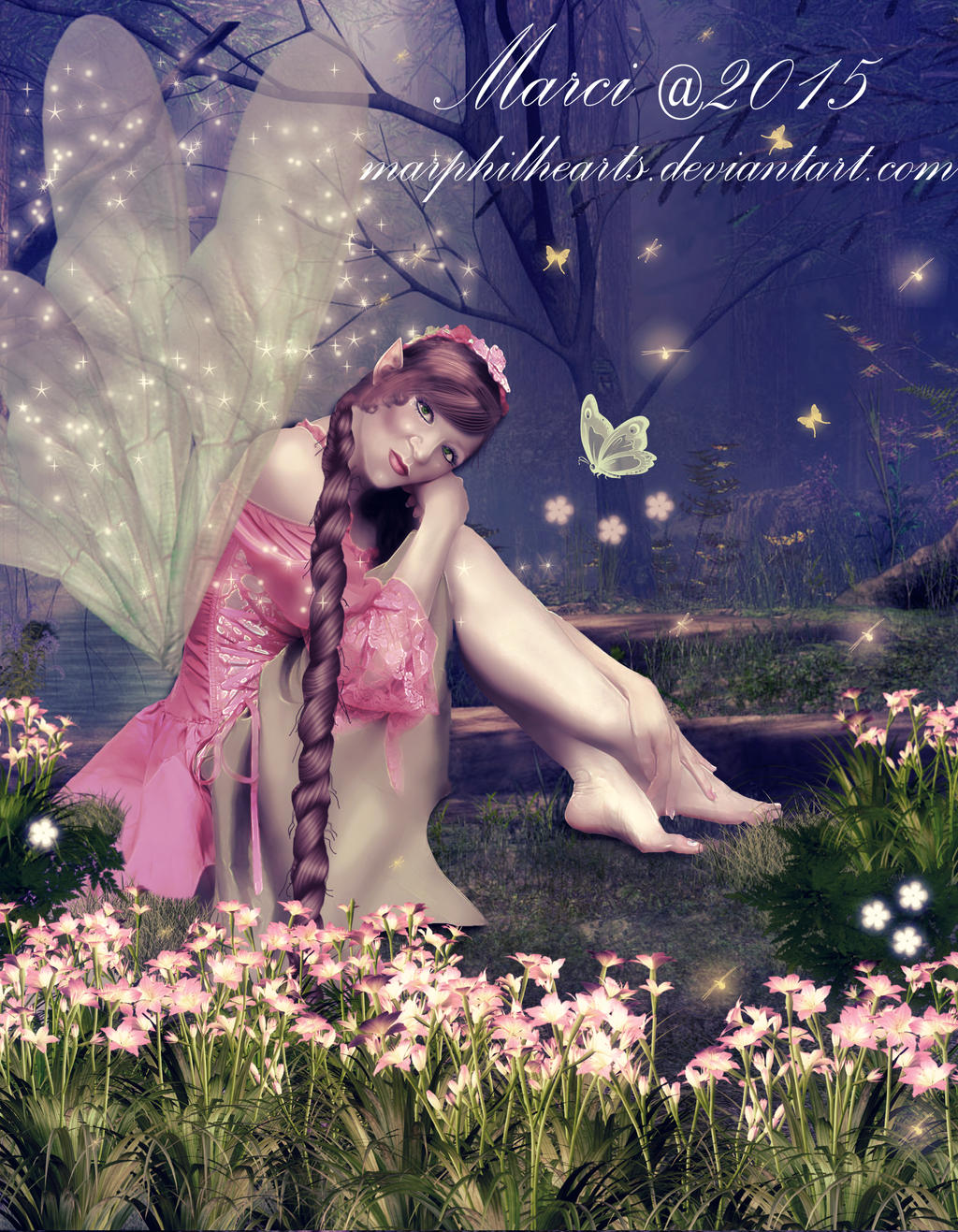Forest Pond Fairy
