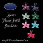 Flower Petal Pendants