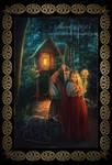 Baba-Yaga and Vasilisa the Beautiful