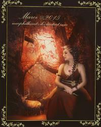 Autumn Goddess by marphilhearts