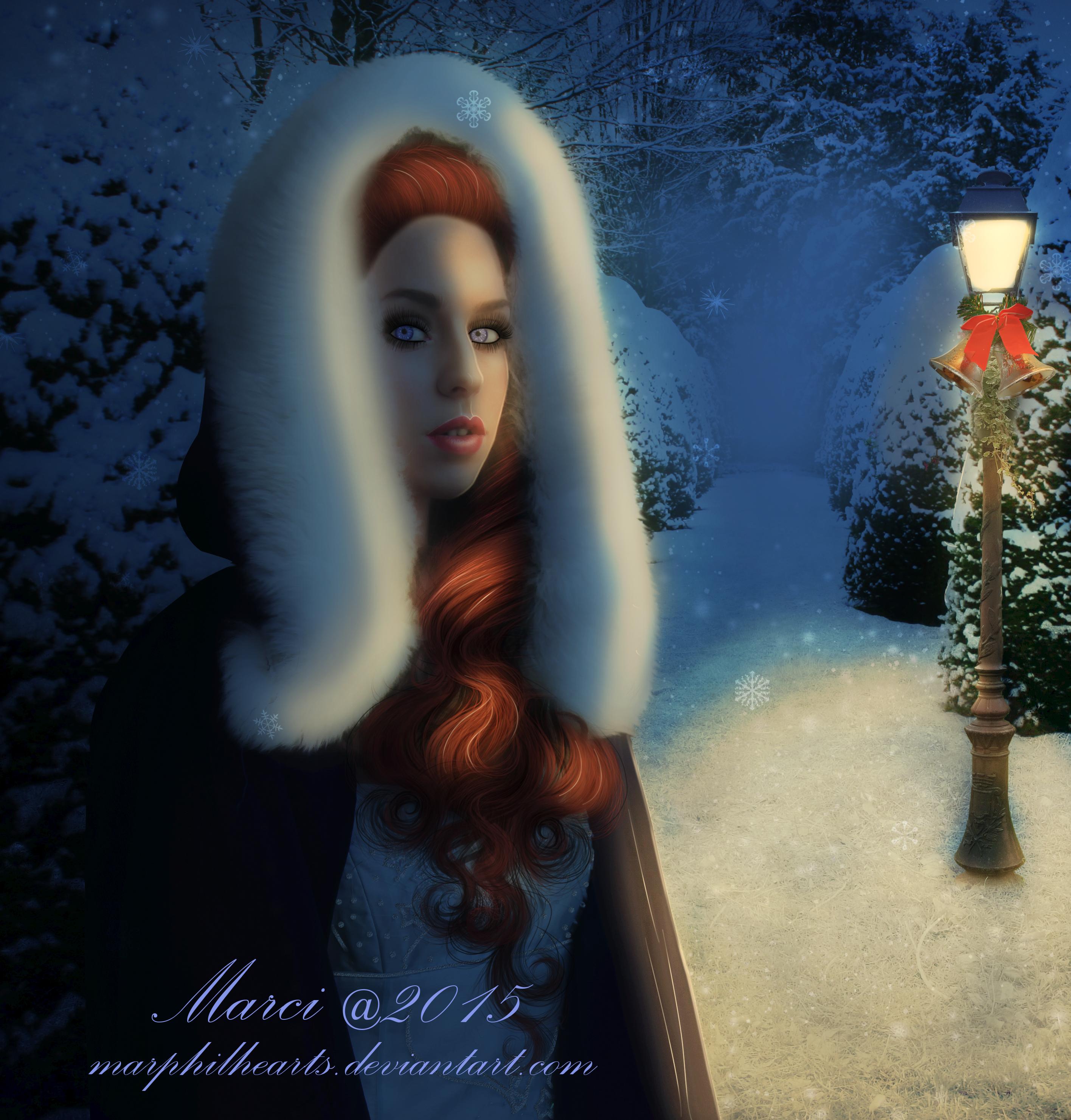 Victorian Winter by marphilhearts
