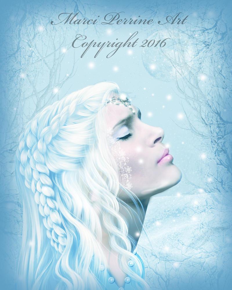 Winter Princess by marphilhearts