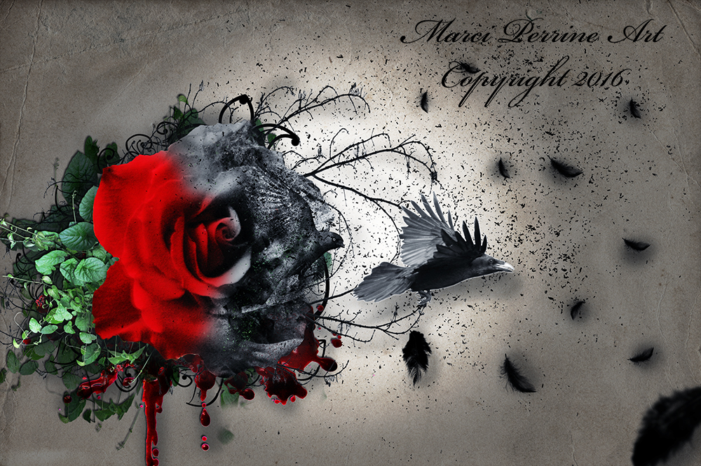 Blackened Beauty by marphilhearts