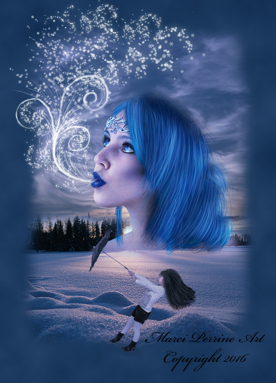 Surreal Lady Winter