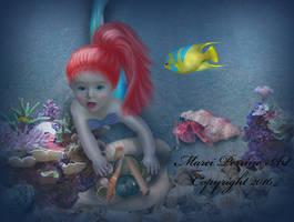 Baby Ariel by marphilhearts