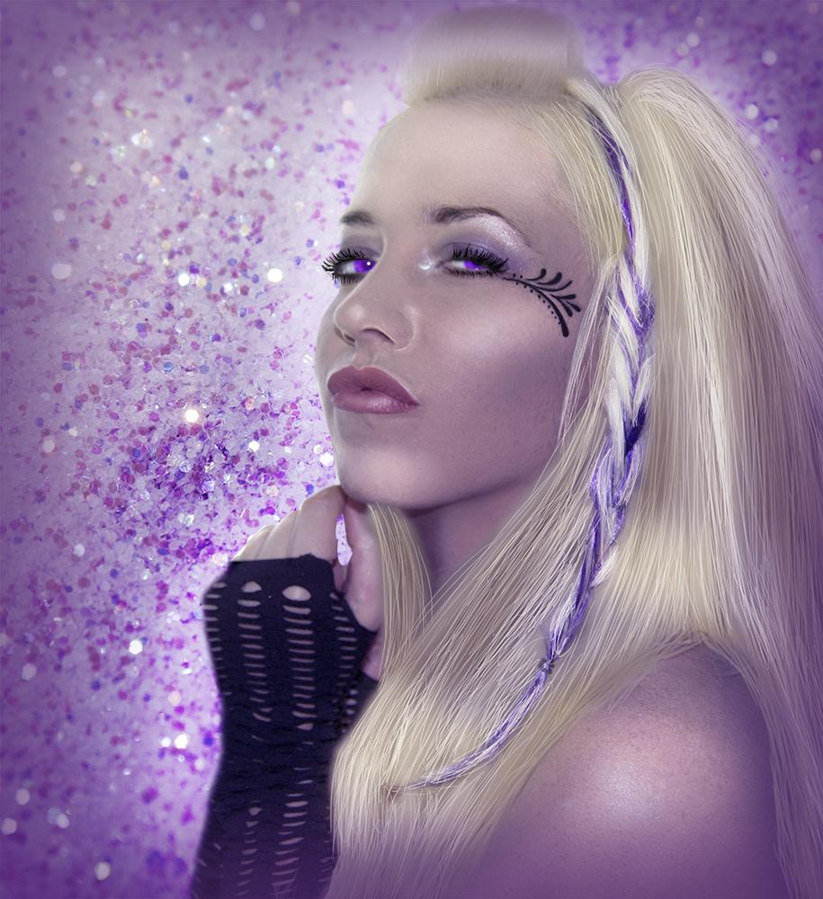 Purple - Glamour Retouch