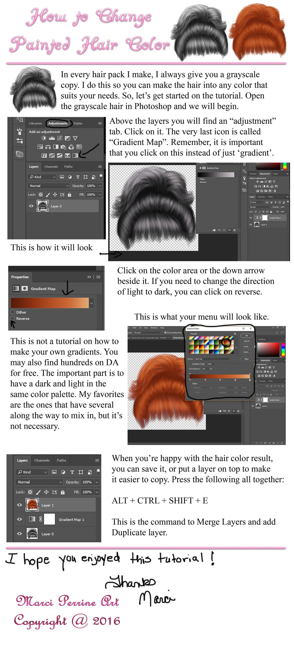 Changing My Hair Color Tutorial By Marphilhearts On Deviantart