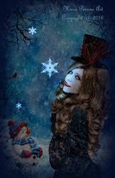 Lolita in a Winter Wonderland by marphilhearts