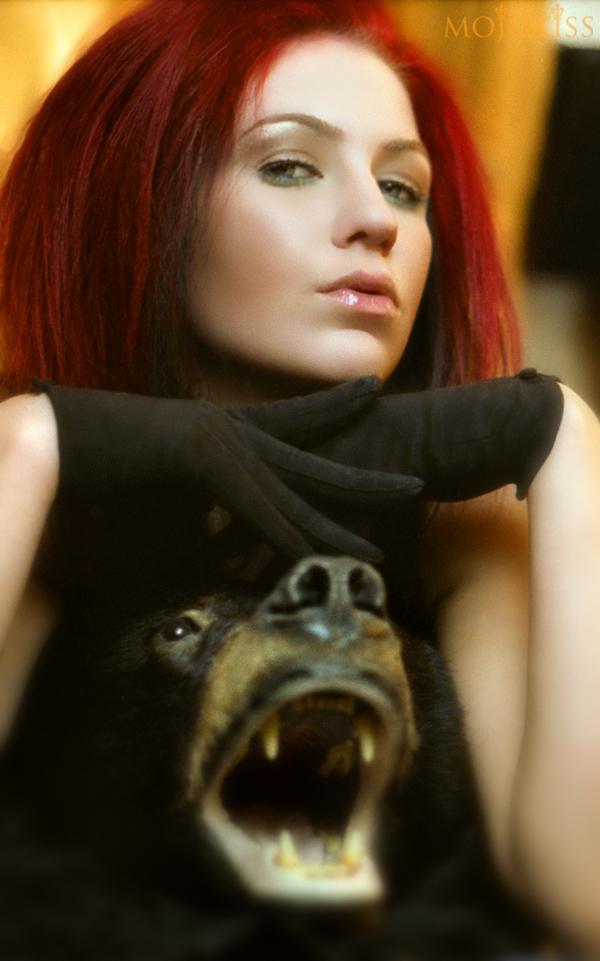 Mojokiss Bear by AdrianneAnderson