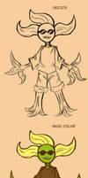 Argosetha character design: Plantman-jhonson