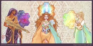 Cosmic Triptych
