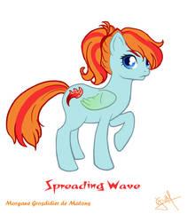 Spreading Wave