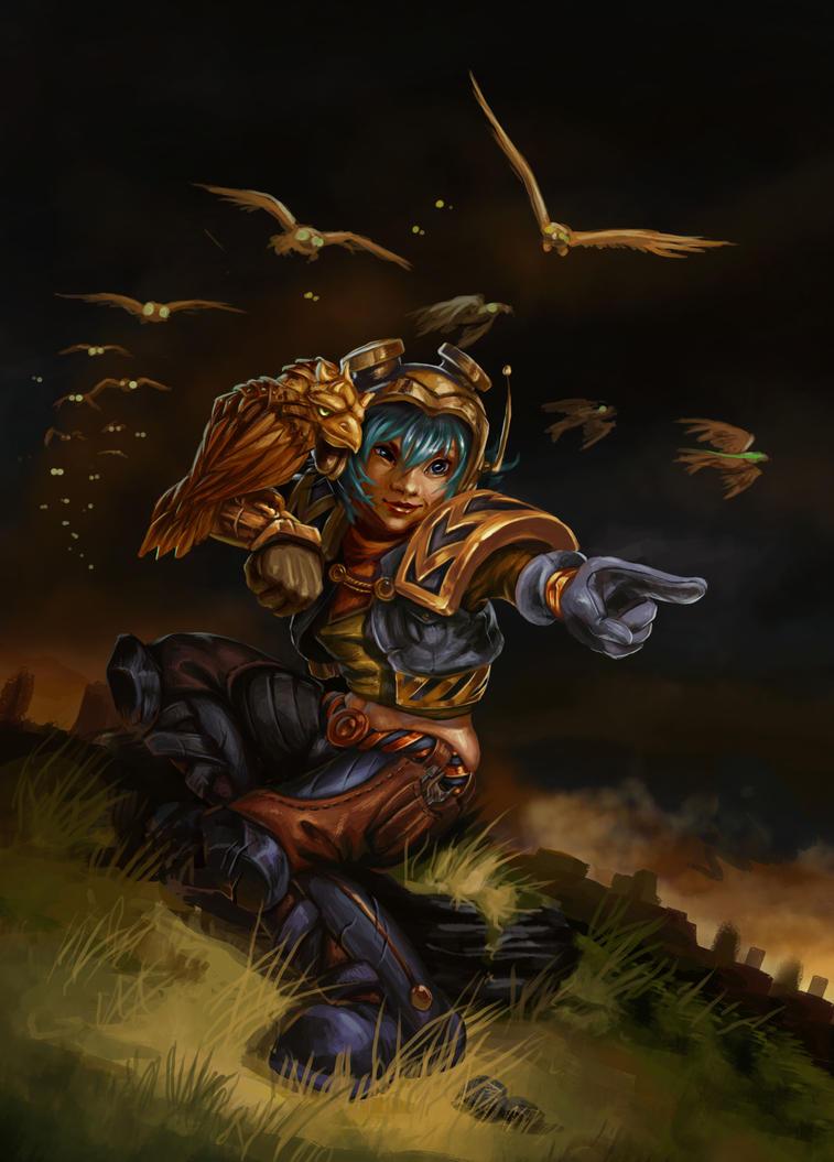 Hawk Master by DoraShizca
