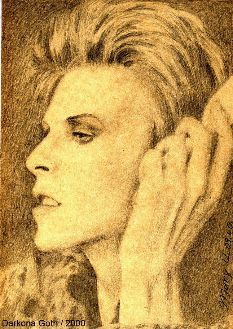 David Bowie .14. by DARK0NA