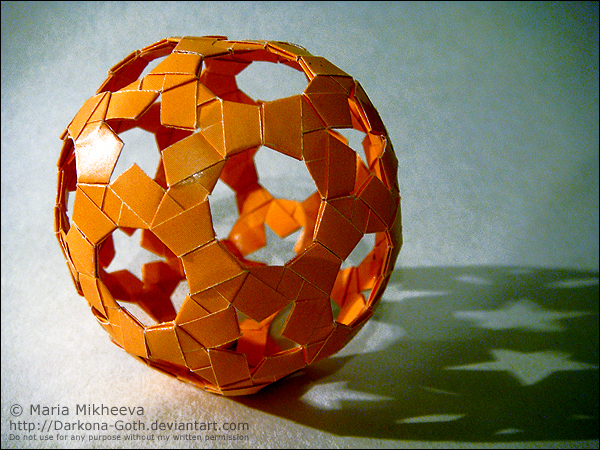 Origami Sphere by DARK0NA