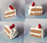 Cream and strawberries