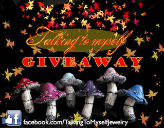 Facebook giveaway MUSHROOMS by Charly-chan