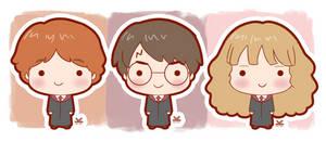 Harry - Ron - Hermione