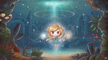 [Commission] Kaii - Azriel by Kelsa20