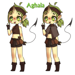 New OC Aghaia by Akhay