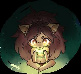 Furry wolf