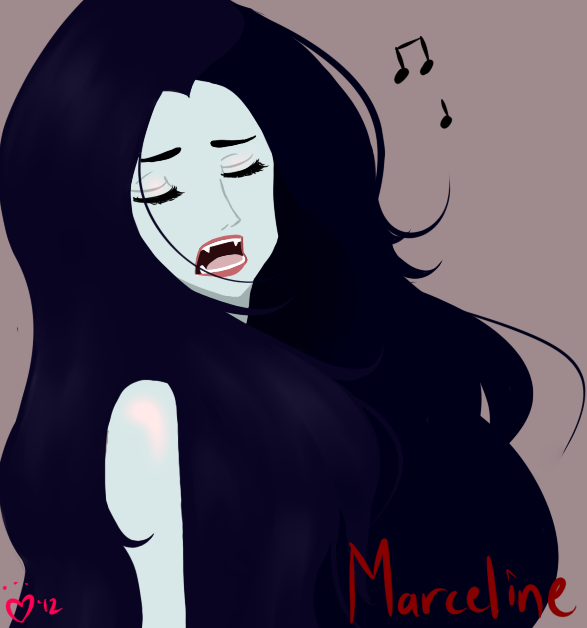 Marceline Sings by TheAebastian