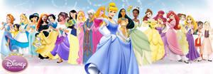 Disney Princess - Full Line by EduFerreiraOFC