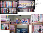 Manga Collection as of Today8D